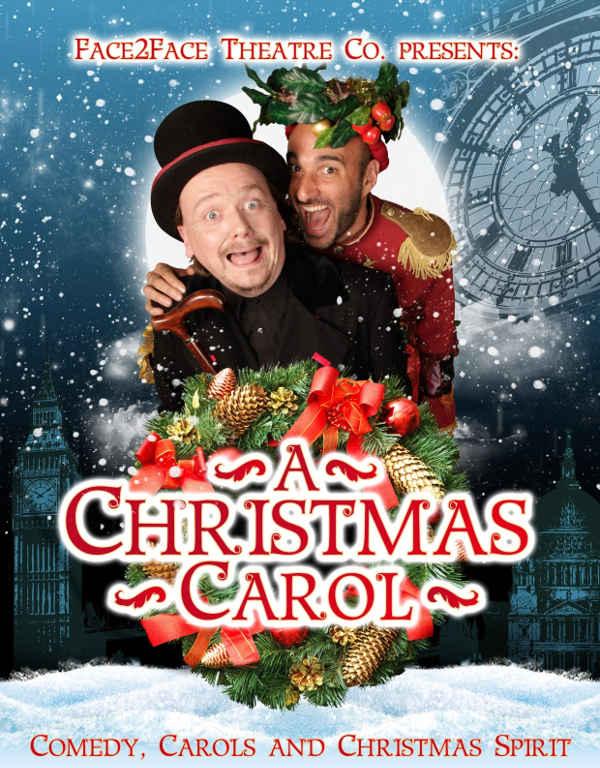 Cartel 'A Christmas Carol' en el Teatro Santa Isabel