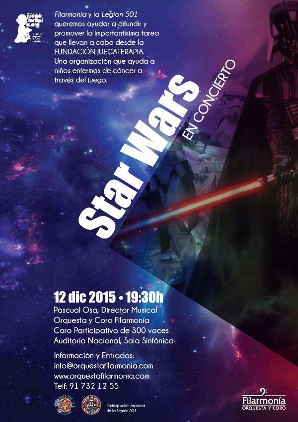 """Concierto Star Wars """"La Guerra de las Galaxias"""" en Madrid"""