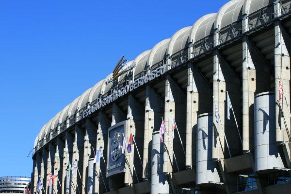 Estadio Santiago Bernabéu del Real Madrid Club de Fútbol