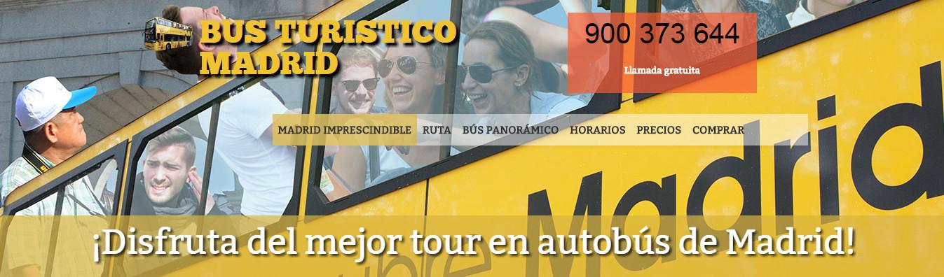 Autobús turístico Madrid