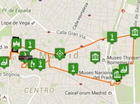 Ruta Madrid Centro