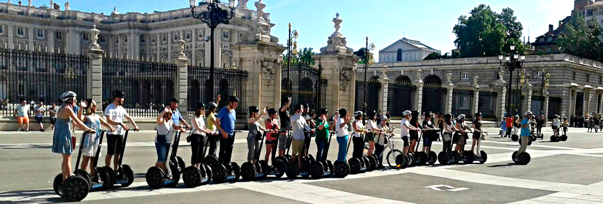 Rutas y Tours en Segway por Madrid