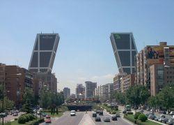 Las Torres Kio en Madrid